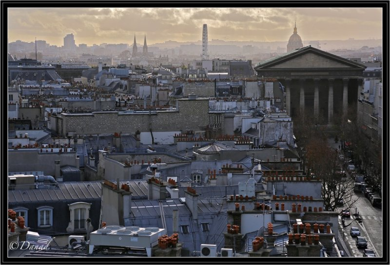 The Rooftops of Paris.
