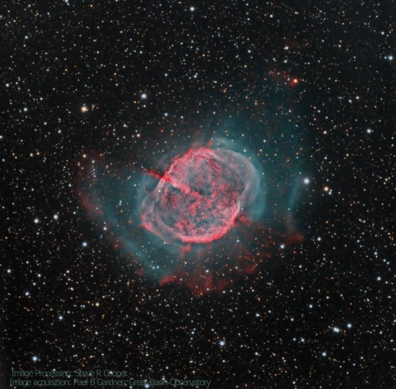 M 27; the Dumbbell Nebula