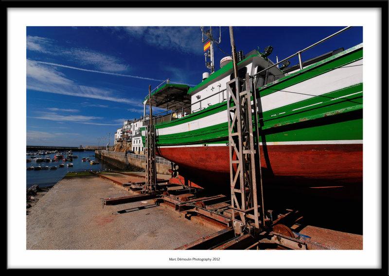 Harbour, Tapia de Casariego, Spain 2012