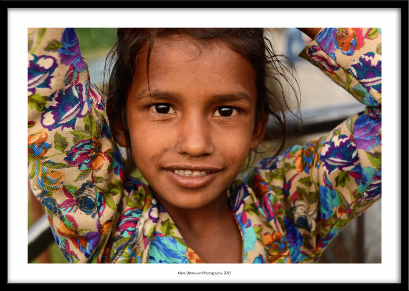 Impish young girl, Mandi, India 2015