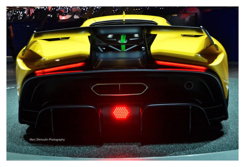 Pininfarina Fittipaldi EF7, Genève 2017