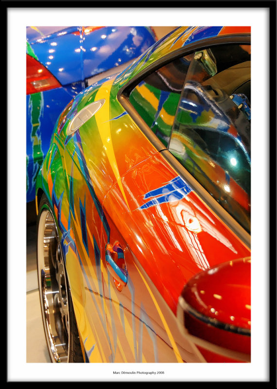 Tuning show, Le Bourget, France 2008