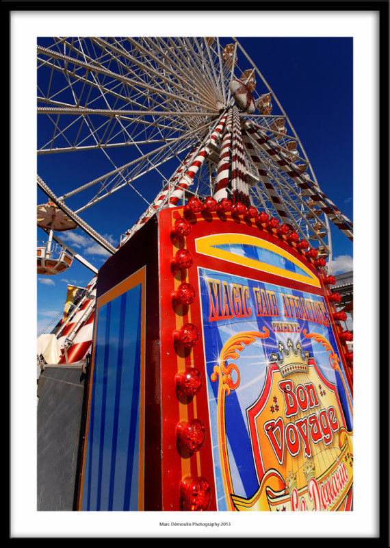 The big wheel, Honfleur, France 2013
