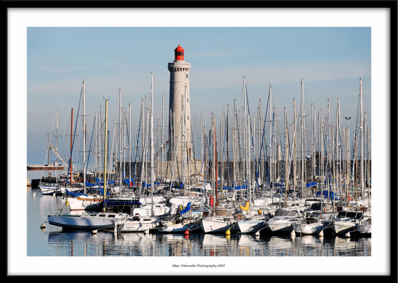 Harbour and lighthouse, Sète, France 2007