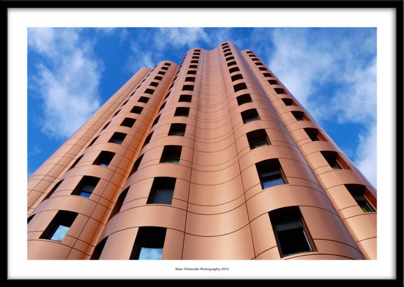 New building, Noisiel, France 2013