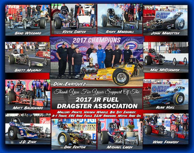 Jr. Fuel Dragster Assoc. 2017