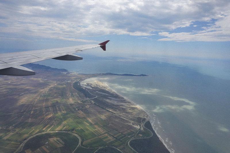 Approaching Tirana Airport
