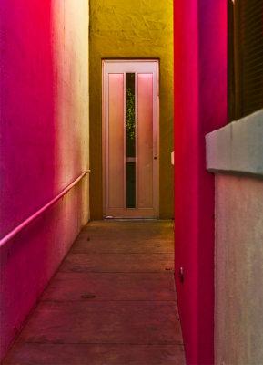 Hotel colors, Scottsdale, Arizona, 2017