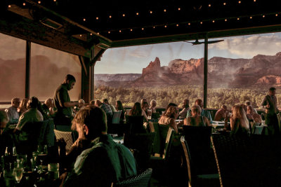 Dining or dreaming? The Mariposa, Sedona, Arizona