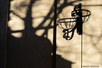 Shadows in Old Town