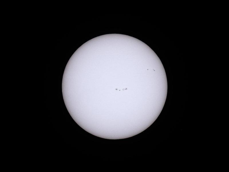 Sun (White Light), April 1, 2017