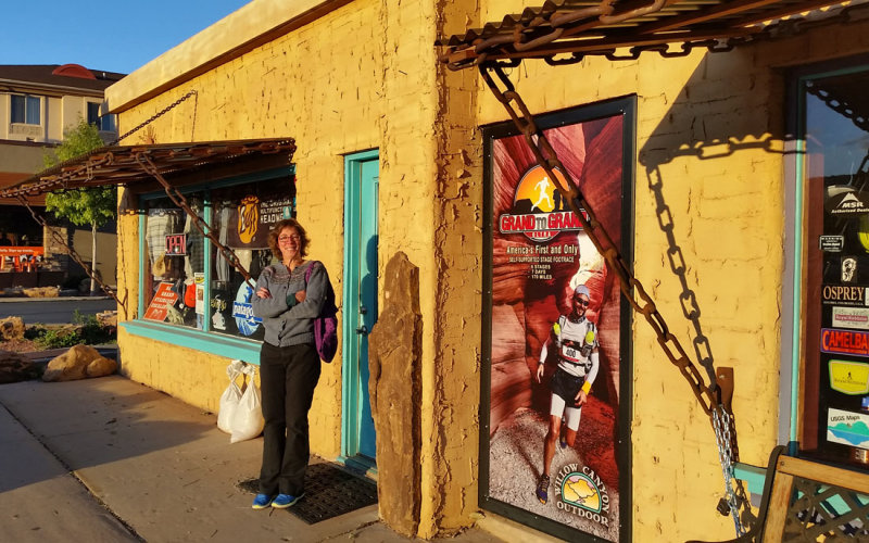 Kanab - Willow Creek Outdoors gear store and coffee!
