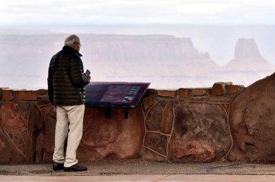 Charlie at Dead Horse Point State Park Moab Utah 392