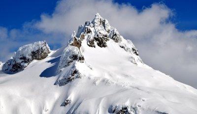 Dome Peak and Dome Glacier North Cascades Mountain Washington 137a