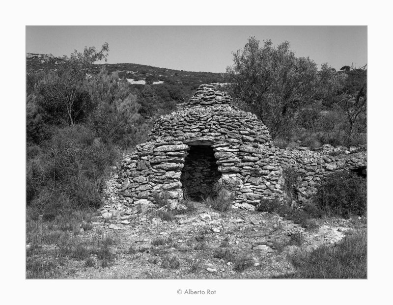 Barraca de curolla · Rossell (Baix Maestrat)
