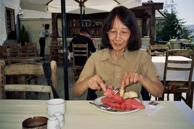 Loved watermelon at the Yusuf Pasha Hotel