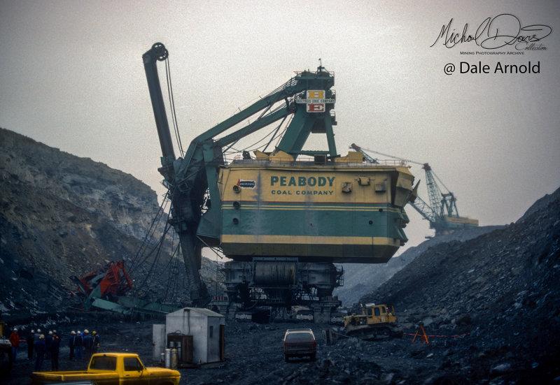 Peabody Coal Company Bucyrus Erie 3850B (Sinclair Mine)