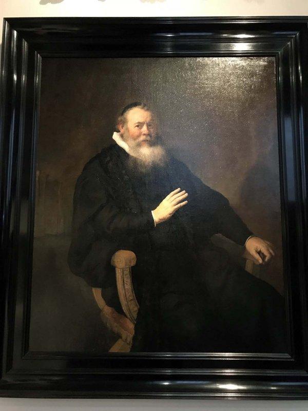 Eleazer Swalmius (1637) - Rembrandt - 8192