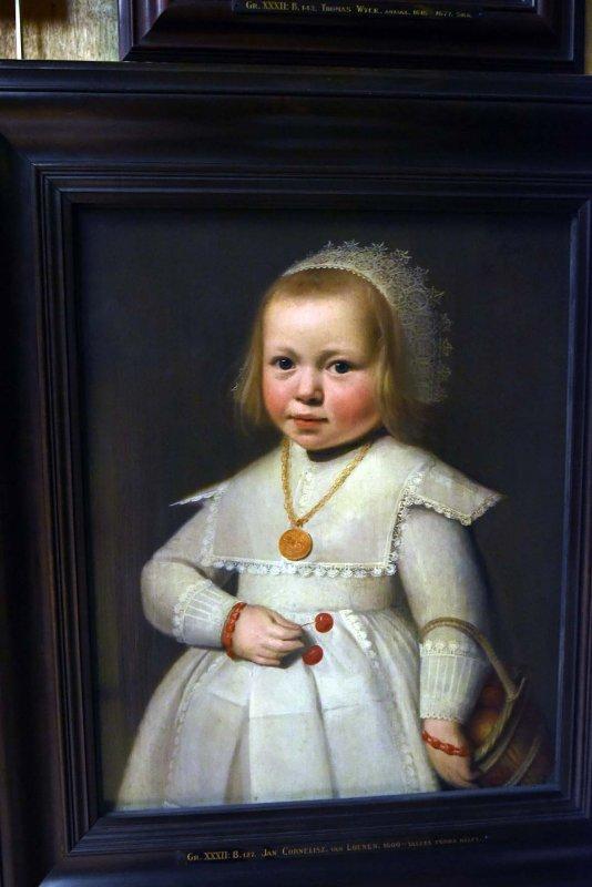 Portrait of a Two-Year Old Girl (1636) - Jan Cornelisz van Loenen - 5790