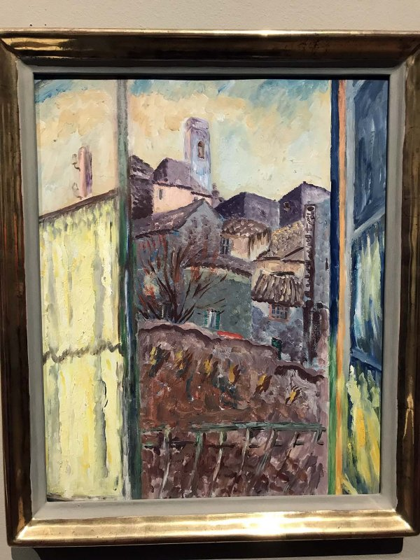 View from a Window, St Paul (1930) - Sigrid Hjertén - 9931