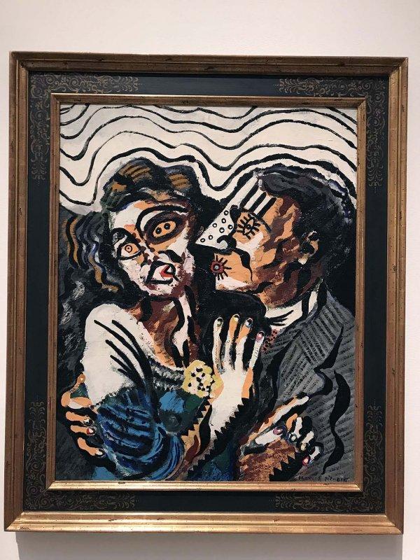 Première rencontre (1925) - Francis Picabia - 0708