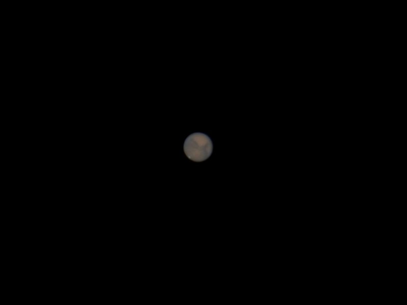 Planet Mars at Opposition - October 2020