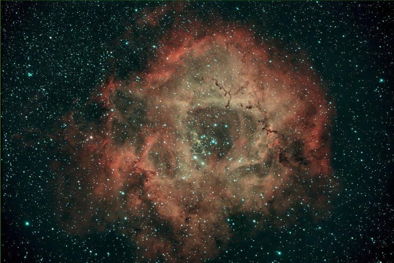 The Rosette Nebula in Monoceros 15-Oct-2020