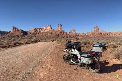 2020 Utah Trip on the Moto Guzzi