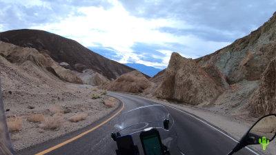 Artist's Drive Loop in Death Valley