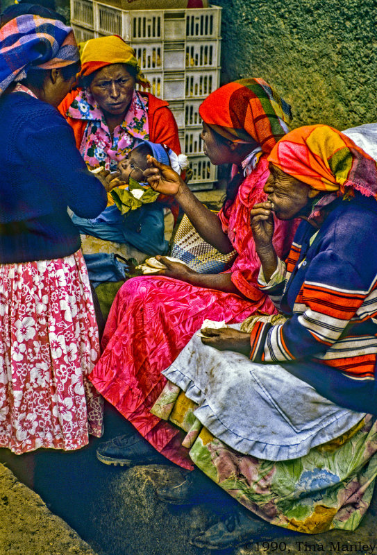 Lenca Women at Market