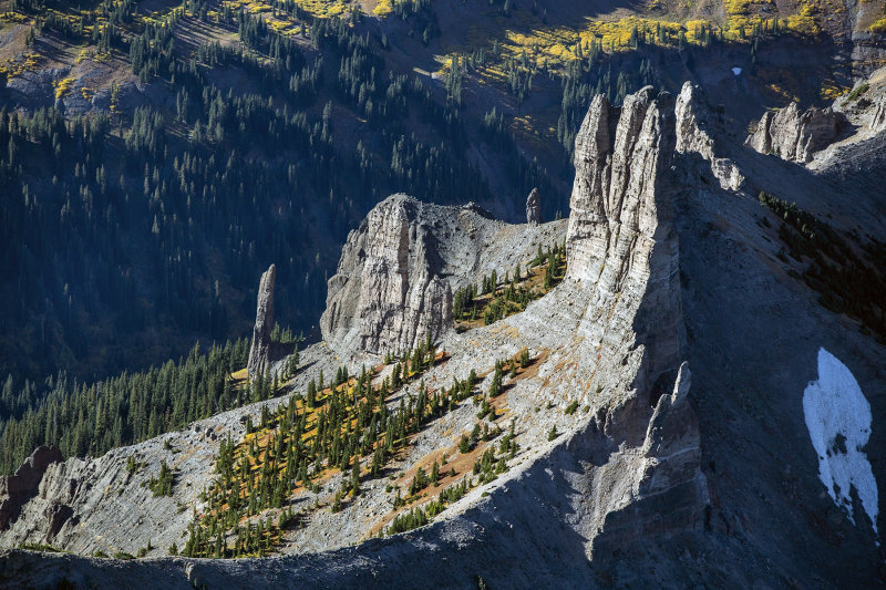 Rock Castles Near Gunnison, Colorado