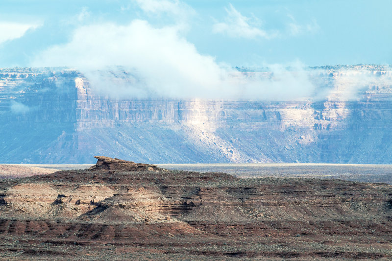 A Timeless View North Of Monument Valley