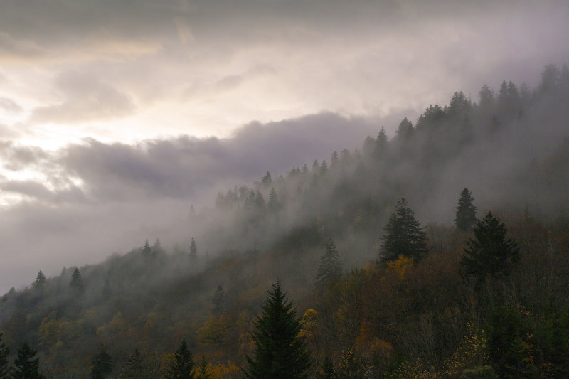 This Is Why They Are Called The Smoky Mountains
