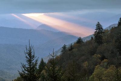 A Break In The Clouds - Oconoluftee View