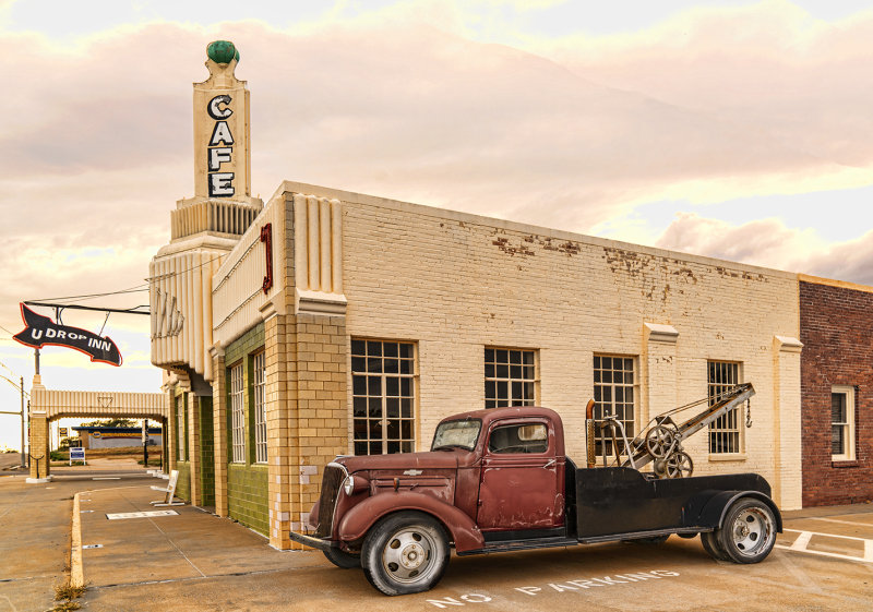 1937 Chevy, Shamrock, Texas