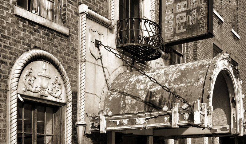 Casa Grande Hotel Entrance Detail