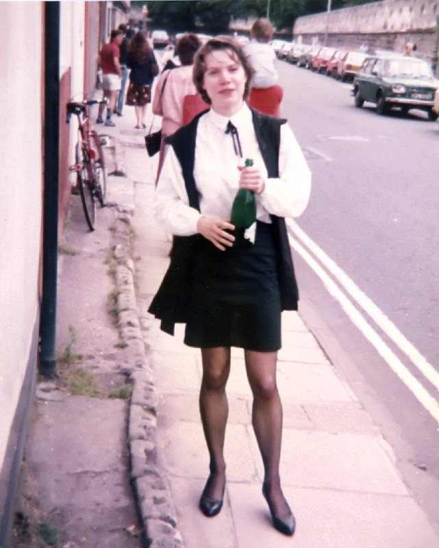 1984 after Janets final exam Longwall St Oxford