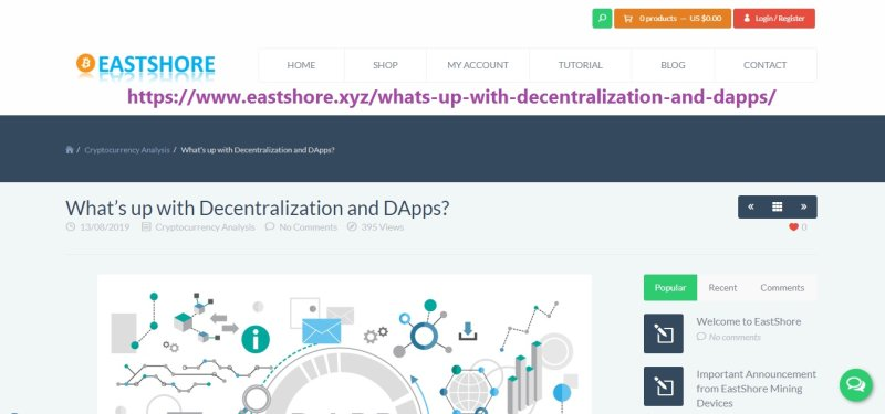 what is a decentralized application