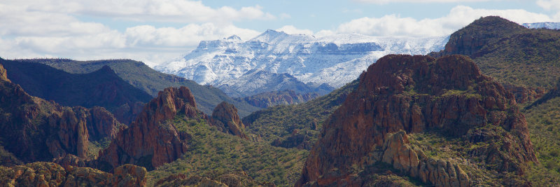 Apache Trail : February Snow