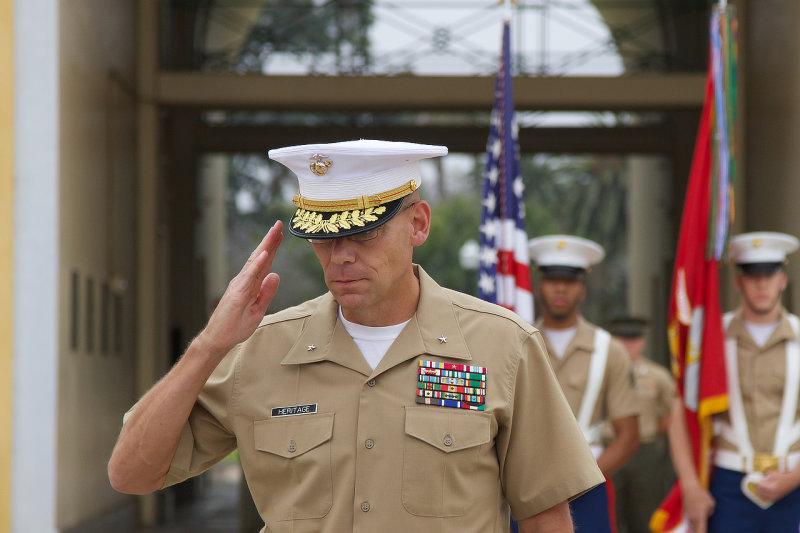 Brigadier General Ryan P. Heritage : MCRD