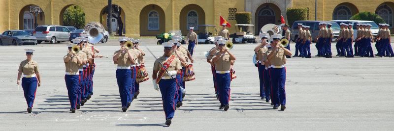 1st Marine Division Band : MCRD