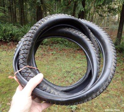 Folded 36 Tire