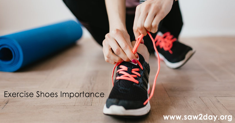 Exercise Shoes As Important As Your Exercise