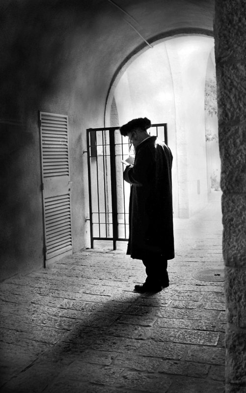 Daily Prayer, Jewish Quarter, Jerusalem