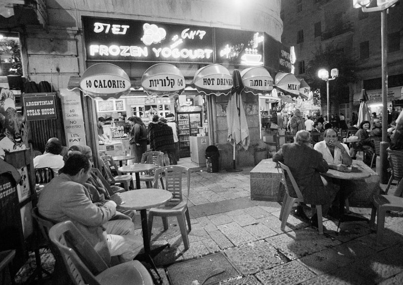 Ben Yehuda St. at Night, Jerusalem