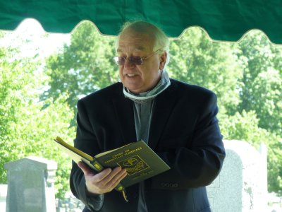 The Deacon touched on a few of Rich's many interests, and told of similarities between Rich's life & his.