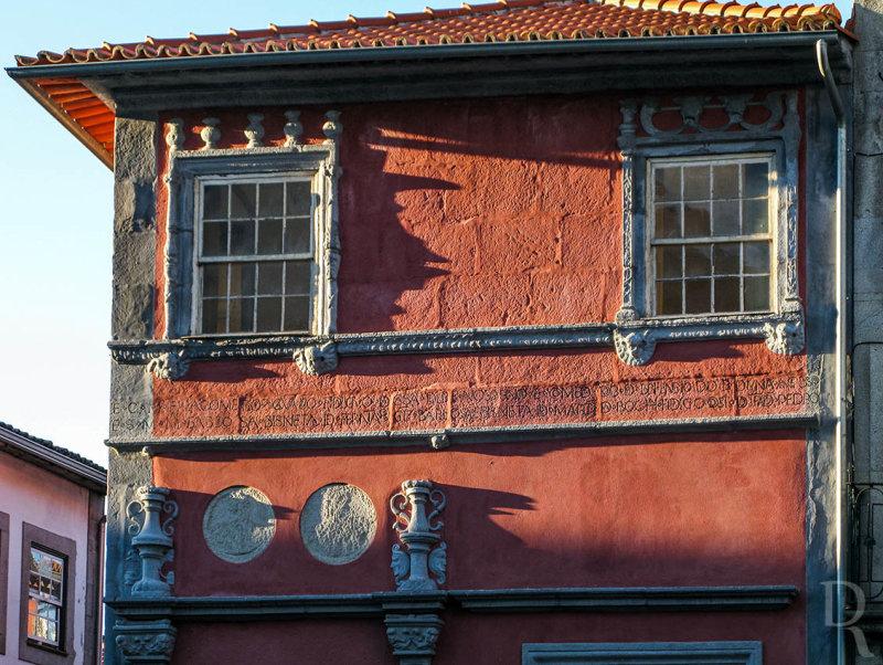 Casa de Miguel de Vasconcelos / Casa dos Medalhões / Casa das Lunas (Monumento Nacional)
