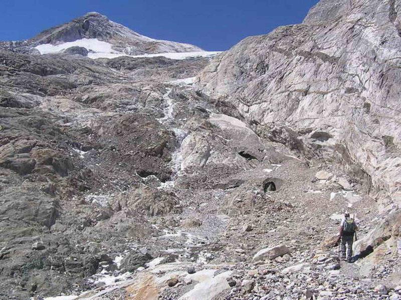 Ce quil reste du front du glacier dOssoue