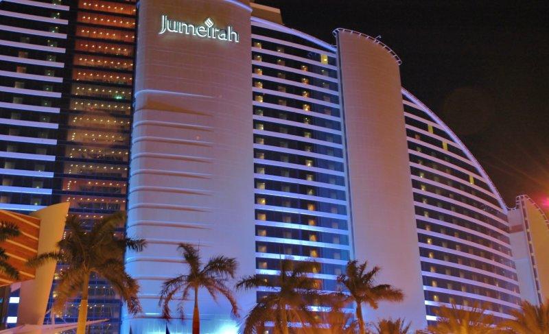 Jumeirah Beach Hotel.