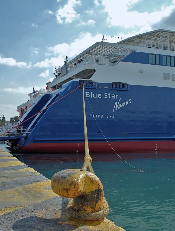 Blue Star - Naxos.